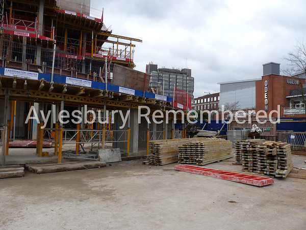 Waterside Theatre site, Exchange Street, Nov 30th 2008
