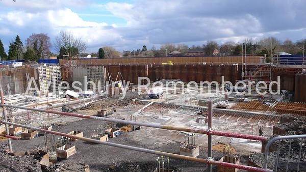 Waterside Theatre site, Exchange Street, Mar 9th 2008