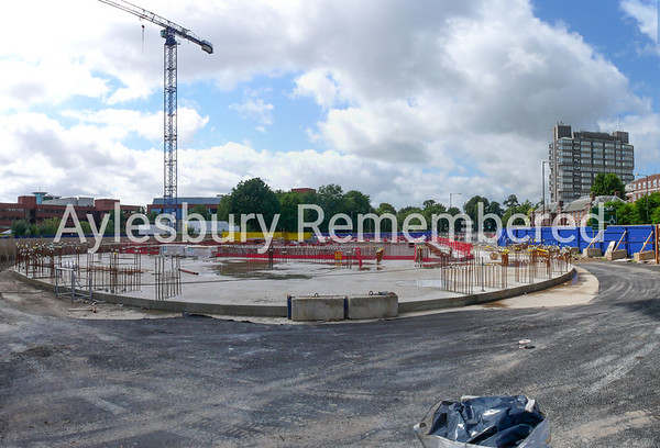 Waterside Theatre site, Exchange Street, Aug 10th 2008