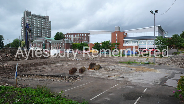 Waterside Theatre site, Exchange Street, July 1st 2007