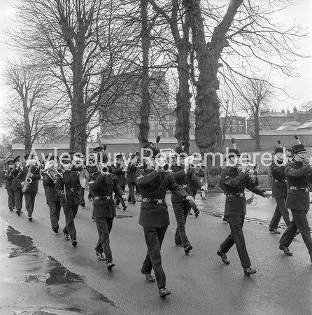 Territorials in Exchange Street, Feb 18th 1967
