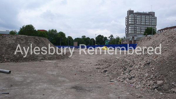 Waterside Theatre site, Exchange Street, Aug 12th 2007