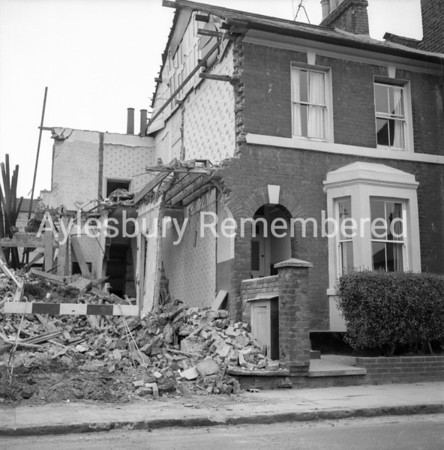 House demolition in Exchange Street, June 25th 1966