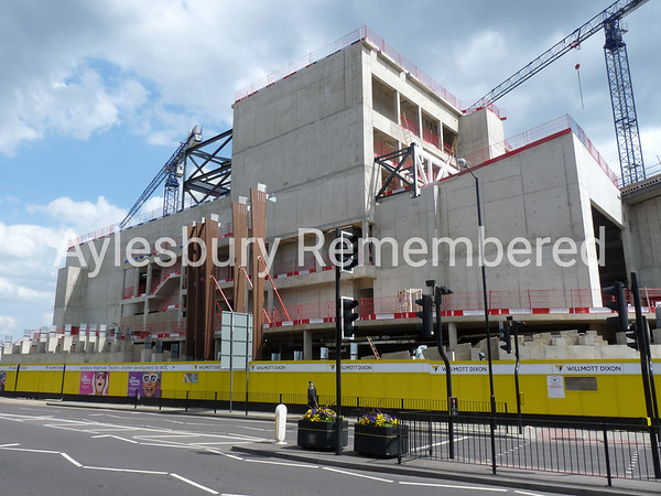 Waterside Theatre site, Exchange Street, May 10th 2009