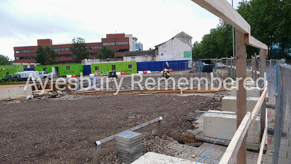 Waterside Theatre site, Exchange Street, July 25th 2007