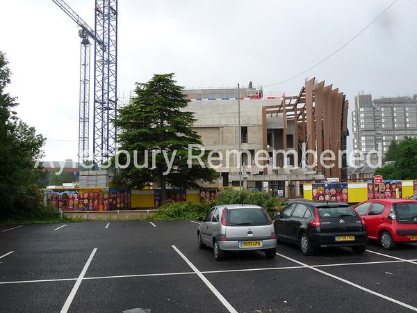 Waterside Theatre site, Exchange Street, July 19th 2009