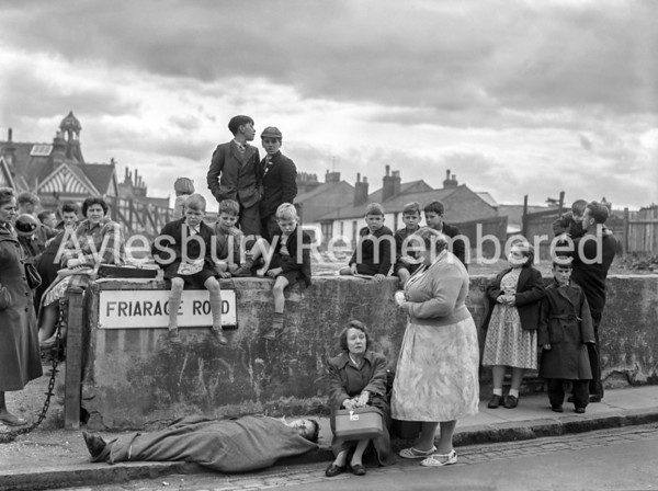 Civil Defence exercise in Friarage Road (old), Sep 15 1957