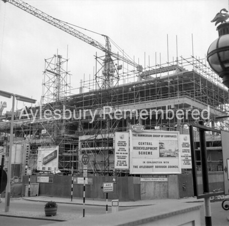 Friars Square construction, Mar 2nd 1966