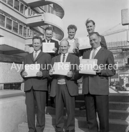 Road Safety Awards in Friars Square, June 10th 1969