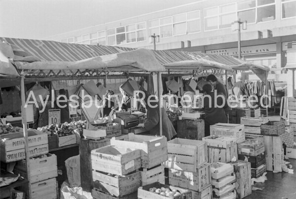 Friars Square market, Feb 1970