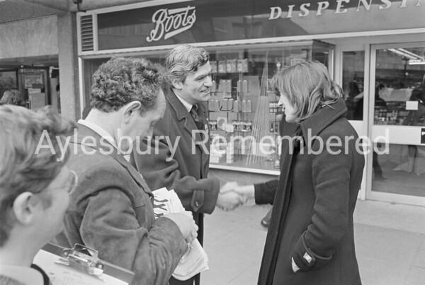 Lord Thurso in Friars Square, Feb 1974