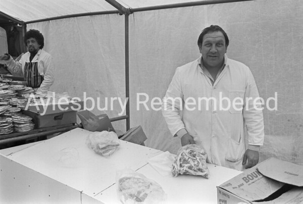 1st Friday market, Friars Square Apr 1981