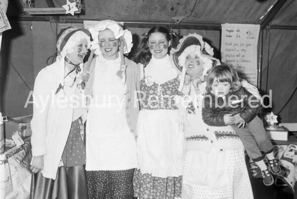 Charity Fair in Friars Square, May 1983