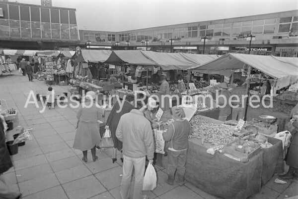 Friars Square Market, Dec 1983