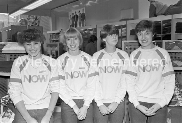 Nox shop in Friars Square, Oct 1983
