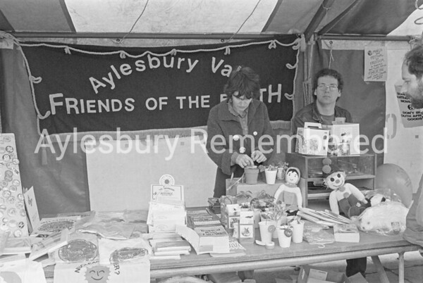 Lions Club charity at Friars Square, May 1986