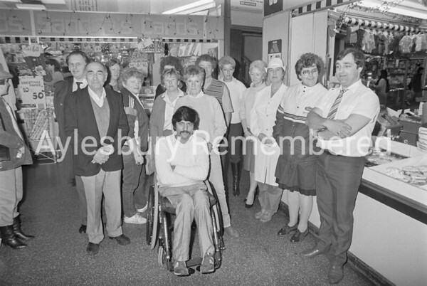 Lower Friars Square traders, Dec 1985
