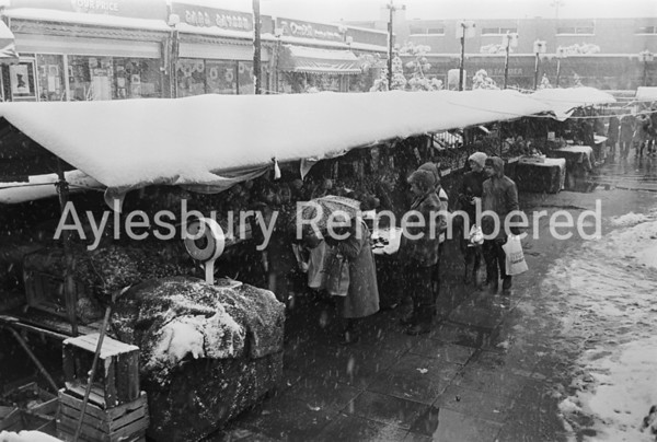 Wintry Friars Square, Dec 17 1981