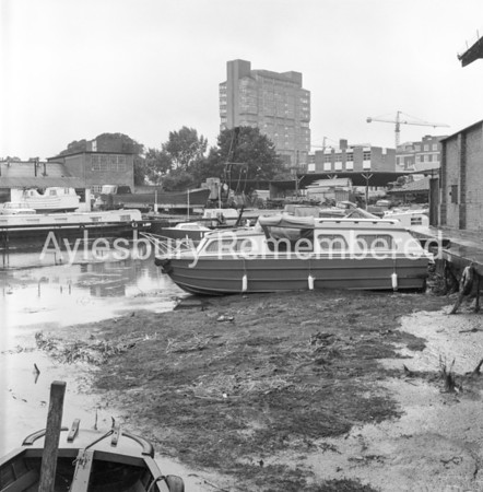 Canal basin drained, Aug 7 1968