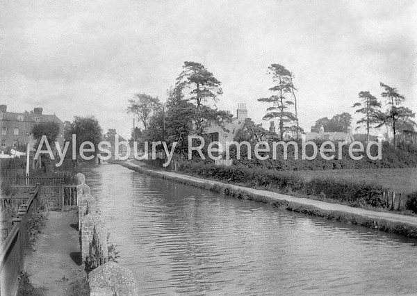 Canal from Highbridge, c1900