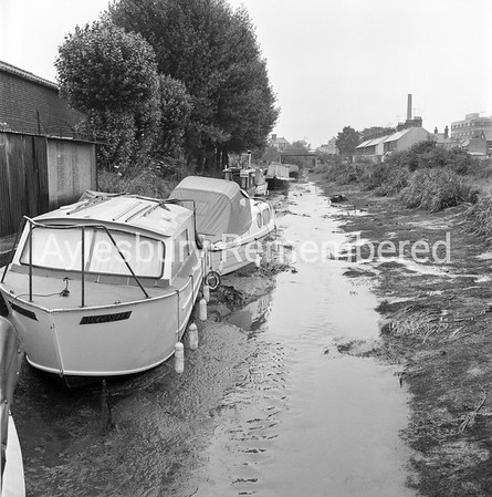 Canal drained, Aug 7 1968