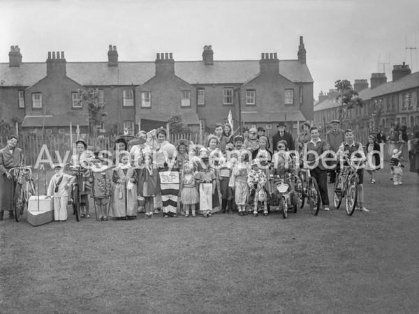 Grecian Street party, June 11 1953