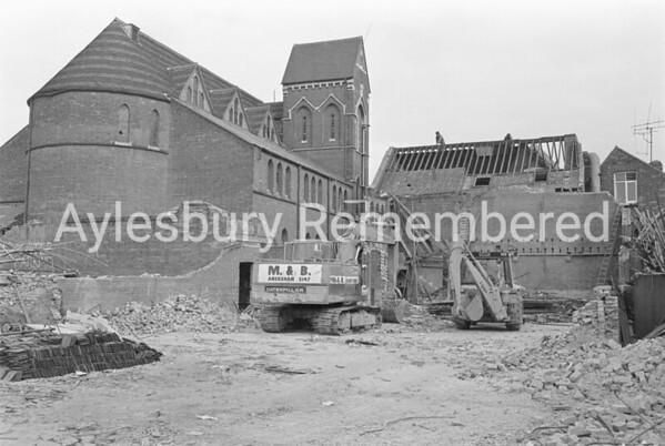 Hale Leys Shopping Centre site, 1980