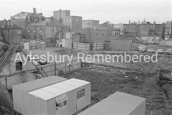 Hale Leys Shopping Centre site, Nov 1980