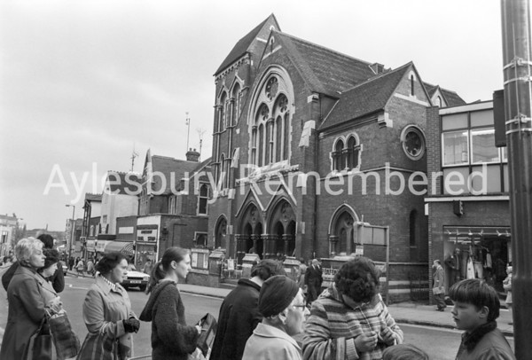 United Reform Church, High Street, Oct 31 1979