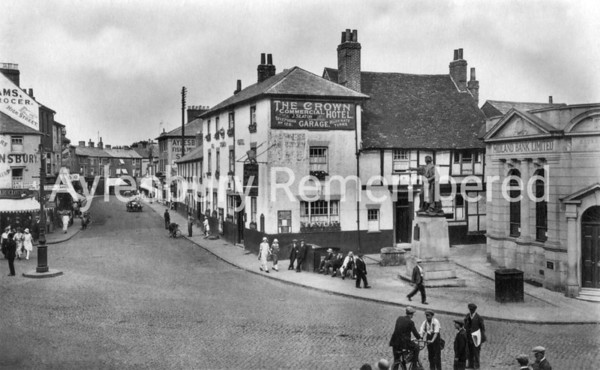 High Street from Market Square, 1920s