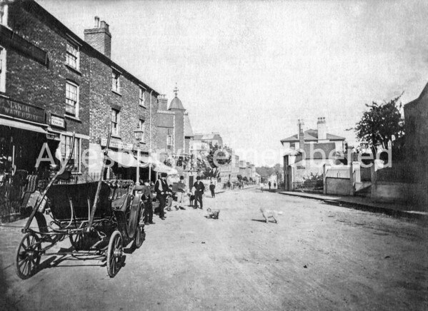 New Road (High Street), c1870