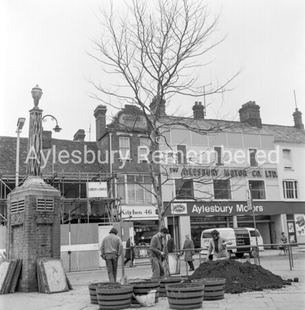 Tree planting in Kingsbury, Feb 5th 1971