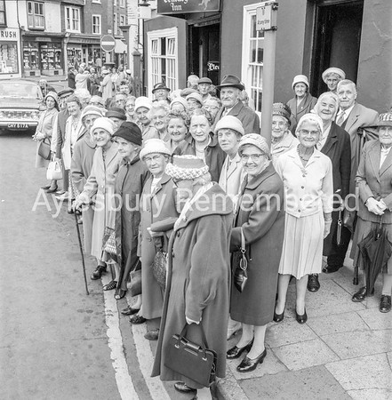 Pensioners in Kingsbury, July 15 1965