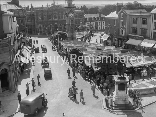 Market Square, Aug 30 1951