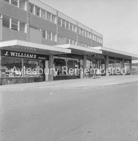 Meadowcroft shops, March 1966