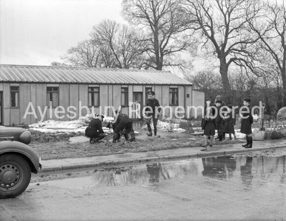 Flooding at Molefield Estate, Mar 13th 1947