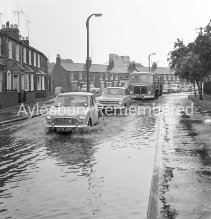 Floods in Park Street, June 12 1963