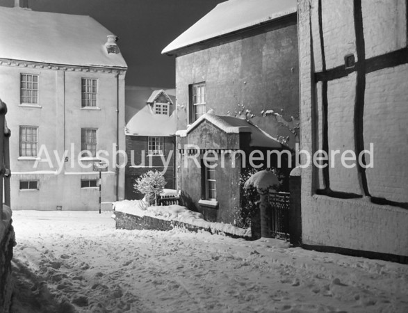Parson's Fee and Castle Street, Jan 14 1960