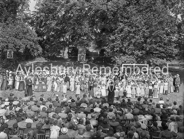 Pageant of the Queen at The Prebendal, July 18th 1953