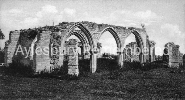 St Peter's Chapel ruins, Quarrendon, c1900