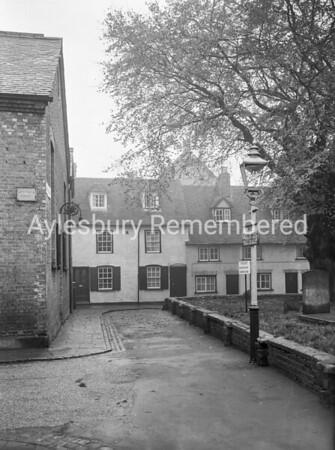 St Mary's Square, Nov 16th 1954