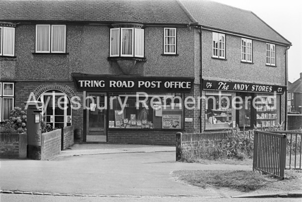 Tring Road Post Office and Andy Stores, Aug 1981
