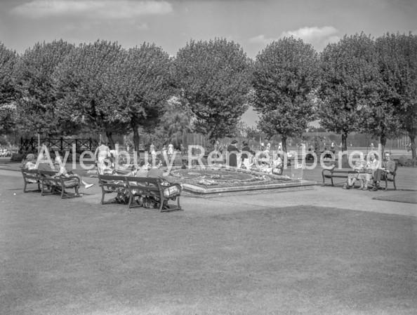 Vale Park, August 1954