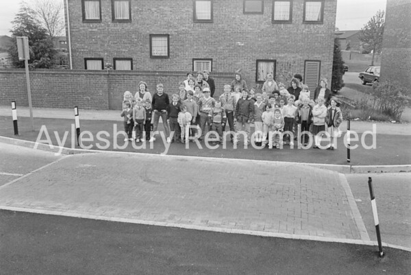 Residents pleased with new speed ramps in Ellen Road, May 1989