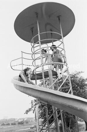 Playground at Walton Court, June 1978
