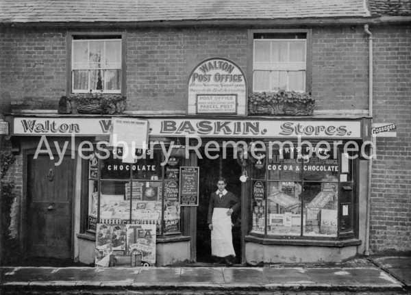 Walton Post Office, Wendover Road c1912