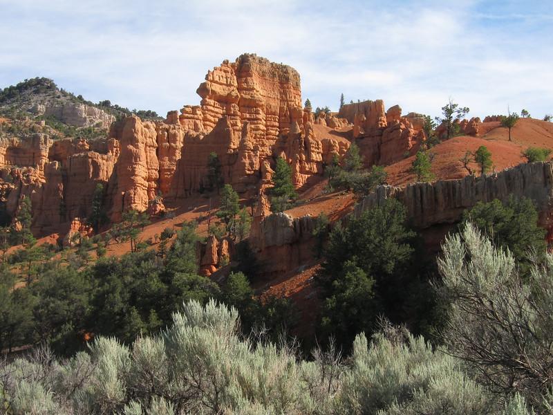 Red canyon on Utah 12