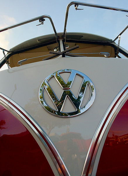 Red VW
