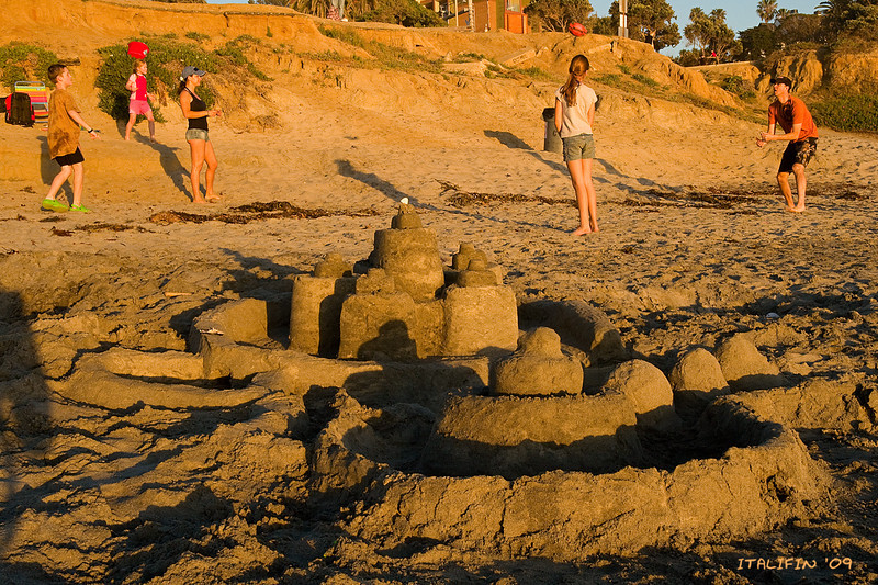 Sand Castle in Del Mar