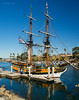 The Lady Washington stood tall in the Oceanside Harbor this week while maritime training was offered to elementary school children.